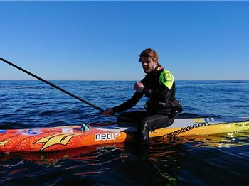 The Danish Viking paddled 137 km from Denmark to Norway - Stand Up Paddle News