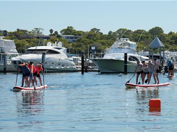 Perth Slays The Red Paddle Co Dragon - Stand Up Paddle News